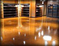 Clear Epoxy Floors